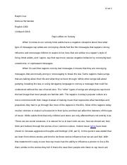 English 1302 Definitional Essay.docx