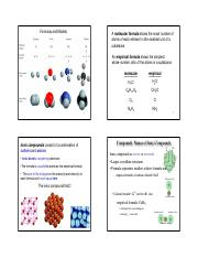 Chapter 2 - Atoms, Molecules, and Ions II - Lecture Slides