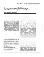 Combating Antimicrobial Resistance-Policy Recommendations to Save Lives.pdf