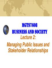 MGTS7608 2 2-016 Managing Public Issues & Stakeholder Relationships.pdf