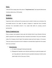 Assignment - Impairment Loss.pdf