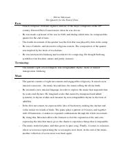 study guide_10_Messiaen