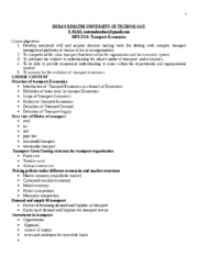 Transportation Economics handout notes - Copy (2).doc