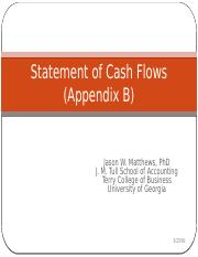 Statement of Cash Flows_Spring2016