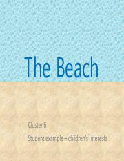 The Beach - experiences based on interests.pdf
