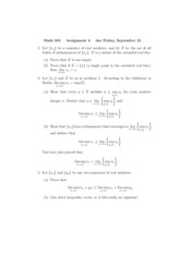 Math 501 Assignment 4
