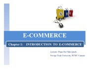 Chapter 1 - Introduction to e-commerce (Ms.Quyen)
