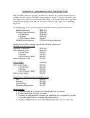 Chapter 19 Job Cost Case (1)