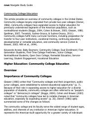 Community College Education Research Paper Starter - eNotes.pdf