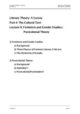 Literary Theory Lecture_9