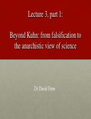 Lecture 03 Beyond Kuhn