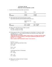 Homework 2 Answer