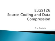 chapter 1 Introduction for Source coding and data compression