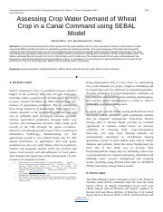 Assessing-Crop-Water-Demand-of-Wheat-Crop-in-a-Canal-Command-using-SEBAL-Model.pdf