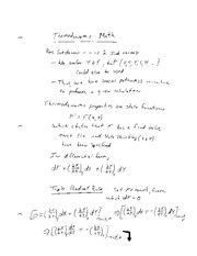Thermo II_Summer 2014_Class Notes #1