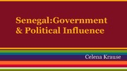Senegal: Government and Political Influence