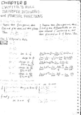 Calc Chapter 8 Class Notes