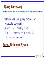 lecture8-Query+Processing