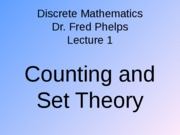 Dicrete Maths Lectures