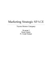 Marketing Strategic SPACE