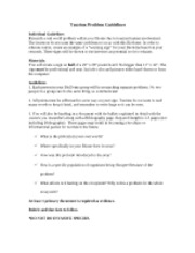 Unit 2 Project Guidelines