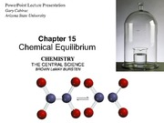 Brown LeMay Chapter 15 Chemical Equilibrium BbVF(1)