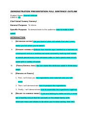 DEMONSTRATION PRESENTATION FULL SENTENCE OUTLINE.docx