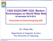 11_CloudComputing_I_CSIS0322_2013