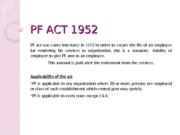 PPT PF ACT