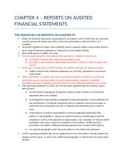 CHAPTER 4 – REPORTS ON AUDITED FINANCIAL STATEMENTS.docx