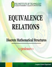 Module 10 Equivalence Relations