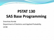 Lecture 5to8 SAS functions