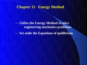 Chapter11EnergyMethods
