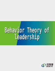 Group - Behavior leadership.ppt