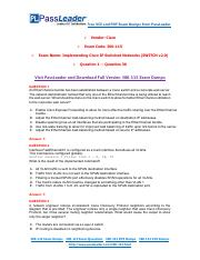 300-115 Exam Dumps with PDF and VCE Download (1-30).pdf