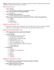 Introduction to Nursing Outline.docx