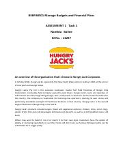 Hungry Jack Corporate