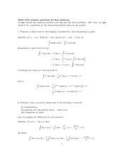 Practice Exam 1 Solution Spring 2013 on Calculus II
