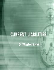 ACC1002 - Lect 7 Current Liabilities