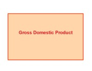 Gross Domestic Product Summer
