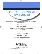 Pocket Clinical Examiner 1st Edition (BestMedicalBooks)