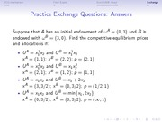 Answers to practice exchange questions