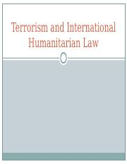 Terrorism and International Humanitarian Law Presentation.ppt