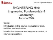 09-22 Lecture 1 - Course Introduction for H191 - Clingan