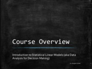 01 Course Overview