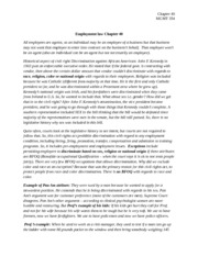 Mgmt 354, Notes, Employment Law, Chapter 40