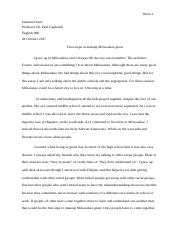 Exemplification Essay .docx