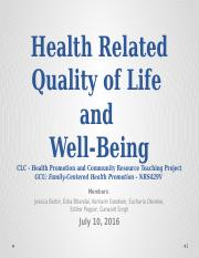 Health Related Quality of Life - CLC PP.pptx