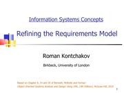 lecture 12 on Information systems Concepts