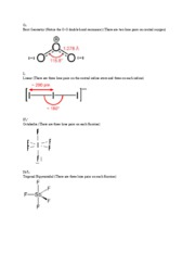 Molecular Geometry Images